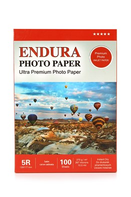 Endura Photo Paper 5R Satin-Mat (13X18cm) 100lük 270g