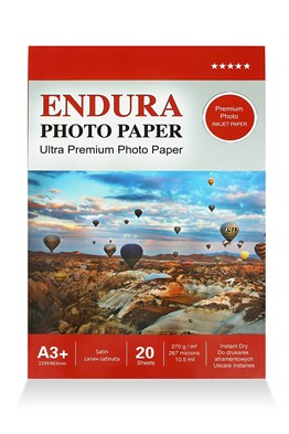 Endura Photo Paper A3+ Satin-Mat (33x48cm) 20 lik 270g