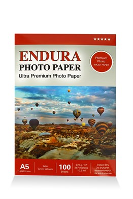 Endura Photo Paper A5 Satin-Mat (15X21cm) 100lük 270g