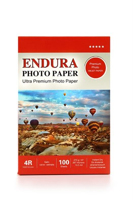 Endura Photo Paper 4R Satin-Mat (10X15cm) 100lük 270g